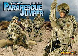 VERY HOT US Air Force Pararescue Jumper 1/6