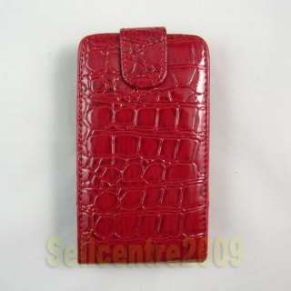 Flip Leather Hard Pouch Case Cover For HTC Inspire 4G
