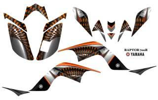 Yamaha Raptor 700 ATV Quad Graphics Decal kit 7777OR