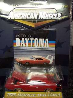 Ertl American Muscle Dodge Charger Daytona 1969 Red Diecast 164 Model