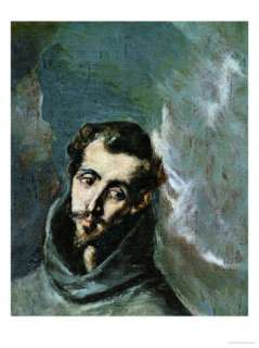 Saint Bernard of Siena Giclee Print by El Greco at AllPosters