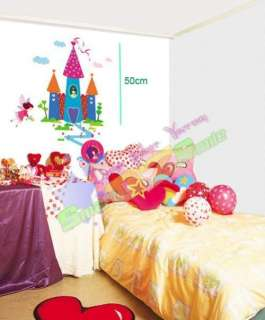 LITTLE PRINCESS CASTLE ♥ REMOVABLE WALL DECAL STICKERS