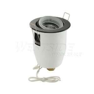 Voltage Mini Gimbal Ring Trim & Housing Kit   Black