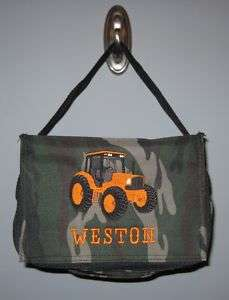 Tractor Lunch bag box PERSONALIZED boys NEW more colors