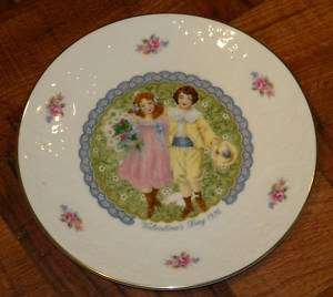 Royal Doulton Valentines Day 1976 China Collector Plate