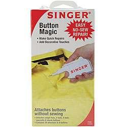 Singer Button Magic Easy No sew Repair Kit