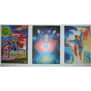 George Perez, Curt Swan, & Jose Luis Garcia 23.5 x 17 Toys & Games