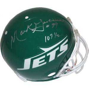 Mark Gastineau New York Jets Autographed Helmet with