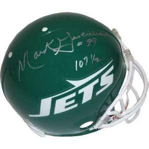 Mark Gastineau New York Jets Autographed Helmet with
