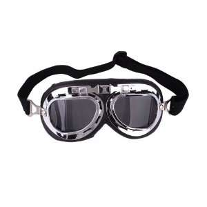 Clear Dark Brown Lens Motorcycle Goggle Sunglasses