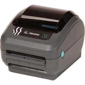 Zebra GK420d Direct Thermal Printer   Monochrome   Desktop