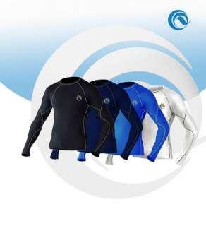 MENS sport base layers under thermal shirt skin S XL