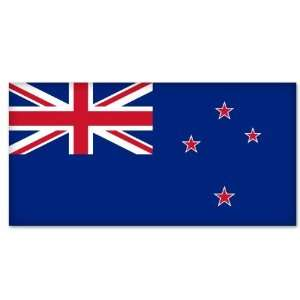 New Zealand National Flag car bumper sticker 5 x 4