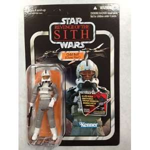 Star Wars Vintage Figure   EPIII Clone Pilot Odd Ball  Toys & Games