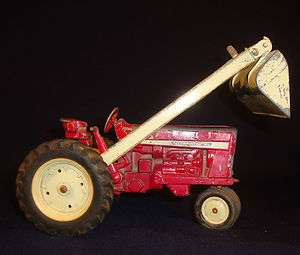 Ertl International Tractor with Loader, Original   Made in USA