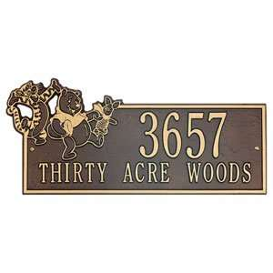 Disney® Pooh & Friends Thirty Acre Woods Wall Address Plaques Baby