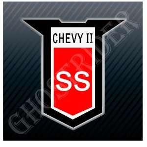 Chevy Chevrolet II SS Super Sport Nova Old Vintage Sticker
