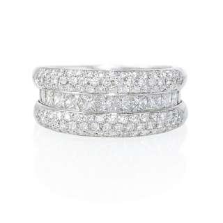 LEO PIZZO 18K WHITE GOLD DIAMOND RING