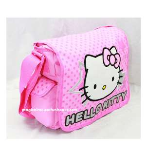 Sanrio Hello Kitty Shoulder Messenger / Diaper Bag Tote New #C