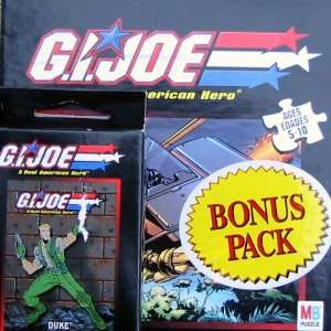 Joe Bonus Pack Puzzle Duke Set