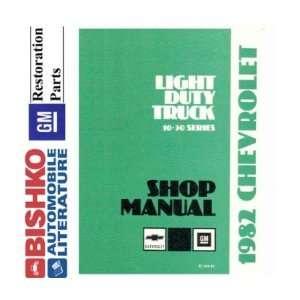 1982 CHEVY GMC 10 35 PICKUP TRUCK Shop Manual CD