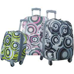On) 3 piece Expandable Hardside Spinner Luggage Set