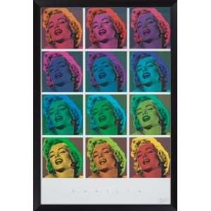 Marilyn Monroe Framed Poser Home & Kichen