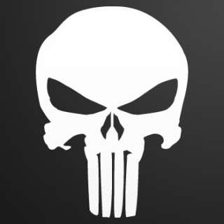 Helmet Decal Sticker Skull Punisher Car Window ZE52W
