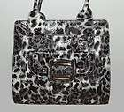 LE SPORTSAC LARGE ANIMAL PRINT COLLETTE HANDBAG PURSE TOTE * NEW