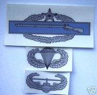 Combat Infantry Badge, CIB, EIB, Airborne Air Assault