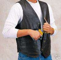 CCW Concealed Carry Weapon Leather Gun Vest Best Pistol Holster Vest