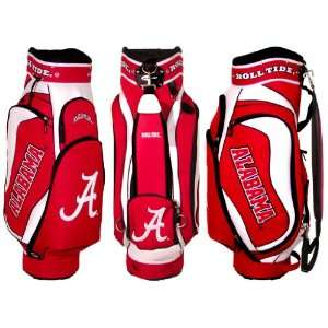 Alabama Crimson Tide Team Logo Golf Club Cart Bag   Golf