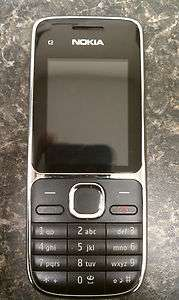Nokia C2 01   Black Mobile Phone (Used) 758478024096