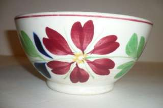 Antique, Staffordshire England, Serving Bowl, Very Old