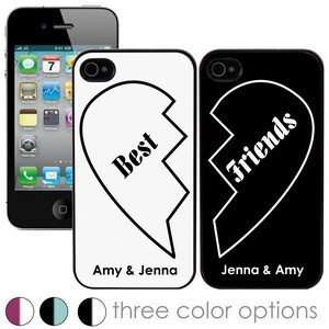 Best Friends Personalized iPhone 4 and 4S Case Set Cell