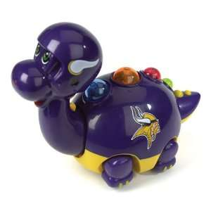 NFL Minnesota Vikings Animated & Musical Team Dinosaur Toy