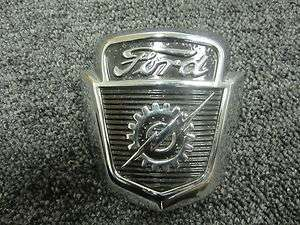 1950s Ford Truck Hood Ornament Emblem Badge Hot Rod Rat Rod #1