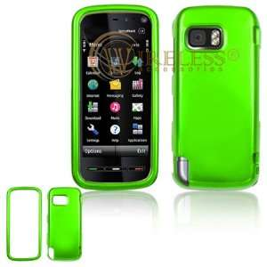 Neon Green Snap On Cover Hard Case Cell Phone Protector for Nokia
