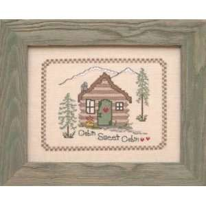 Cabin Sweet Cabin   Cross Stitch Pattern: Arts, Crafts & Sewing