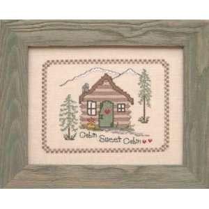 Cabin Sweet Cabin   Cross Stitch Pattern: Arts, Crafts & Sewing