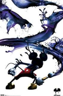 VIDEO GAME POSTER ~ EPIC MICKEY PAINT SWATH Mouse