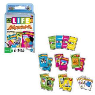 The Game of Life Adventures Card Game NEW