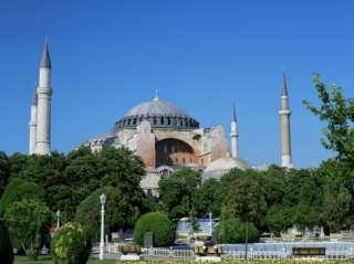 St. Sophia Mosque, Unesco World Heritage Site, Istanbul, Turkey