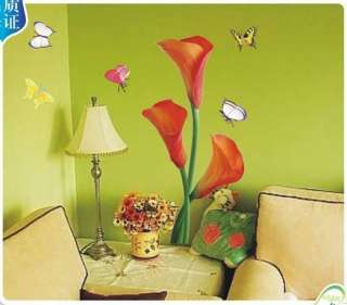 Tulip Flower Art Deco Vinyl Wall Paper Sticker Decal269