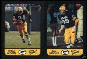 Green Bay Packers NFL Super Bowl II Set STARR NITSCHKE