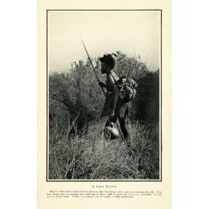 1910 Prin Bako Ehiopia Karo Omo River rading Indigenous