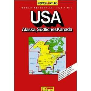 USA World Atlas (World Map) (9783575118714): Books