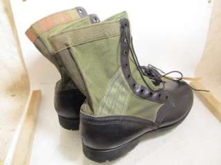 MILITARY VIETNAM WAR SPIKE PROTECTIVE JUNGLE BOOTS RARE MINT w/ TAGS