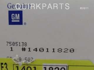 1969 to 1982 Chevrolet Corvette RH Door Handle 14011820 New OEM NOS