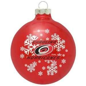 Carolina Hurricanes NHL Traditional Ornament Sports